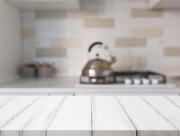 Materiales para la reforma de la cocina