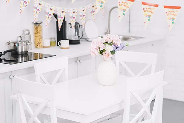 sillas de la cocina