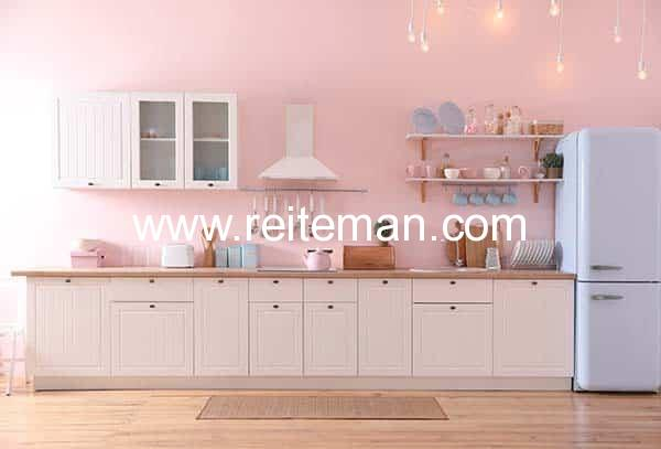 cocina color vintage