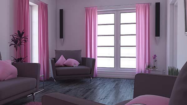¿Cómo elegir las cortinas para el salón?