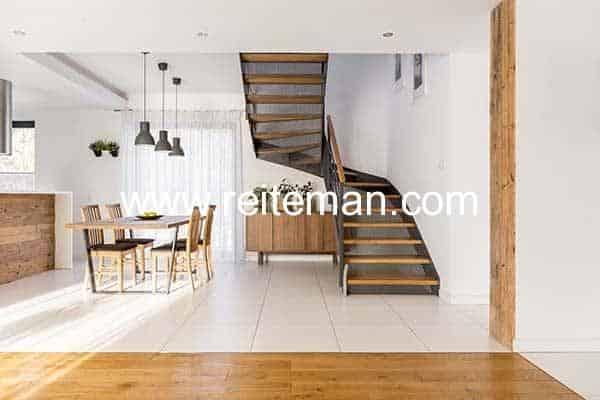 Tipos de escaleras rústicas