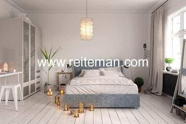 5 tipos de lámparas de techo para dormitorio