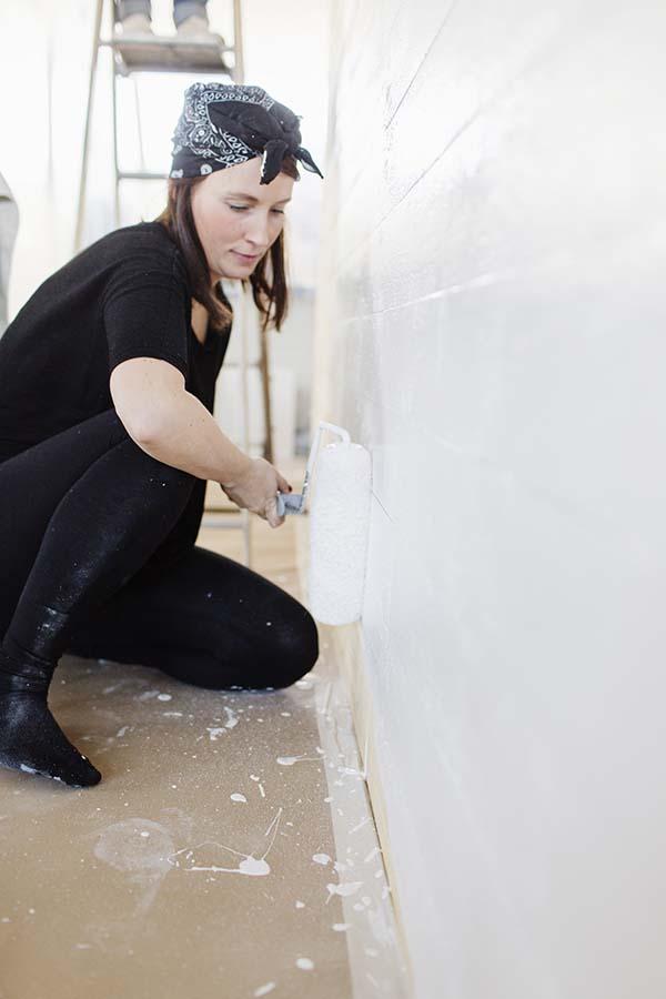 Pintar azulejos baño paso a paso