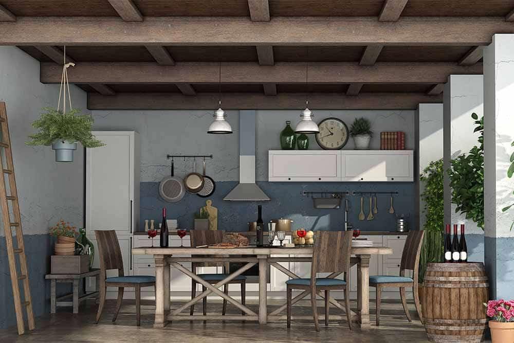 Reiteman - blog: cocina-rustica-obra
